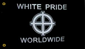 White Pride World Wide Flag